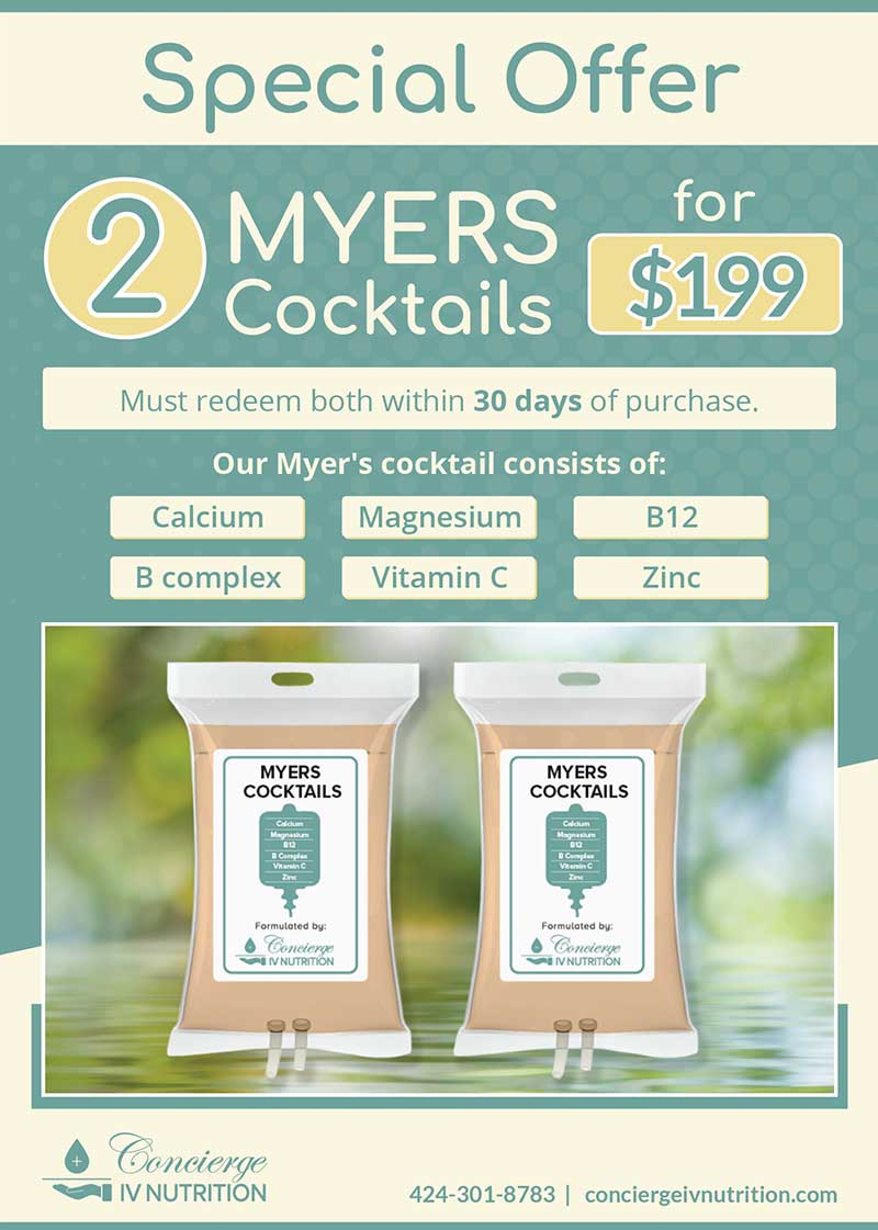 Myers Cocktails Special September